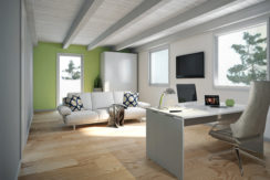 render sottotetto